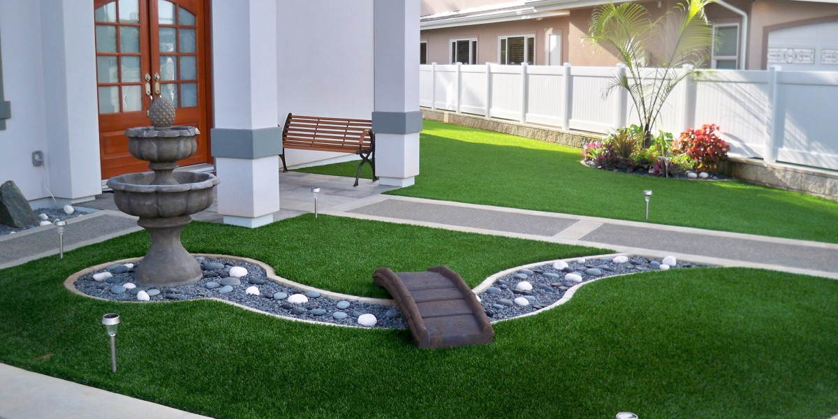 Kaneohe Hawaii residential synthetic lawn