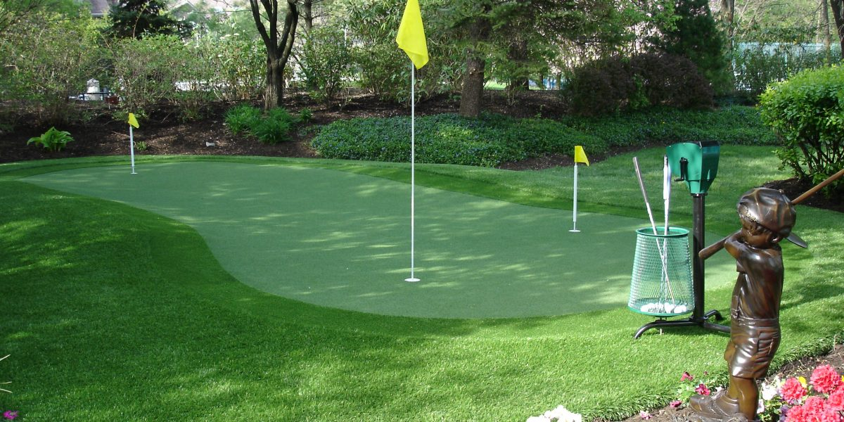 Synthetic Turf International Putting Green Artificial Grass STI