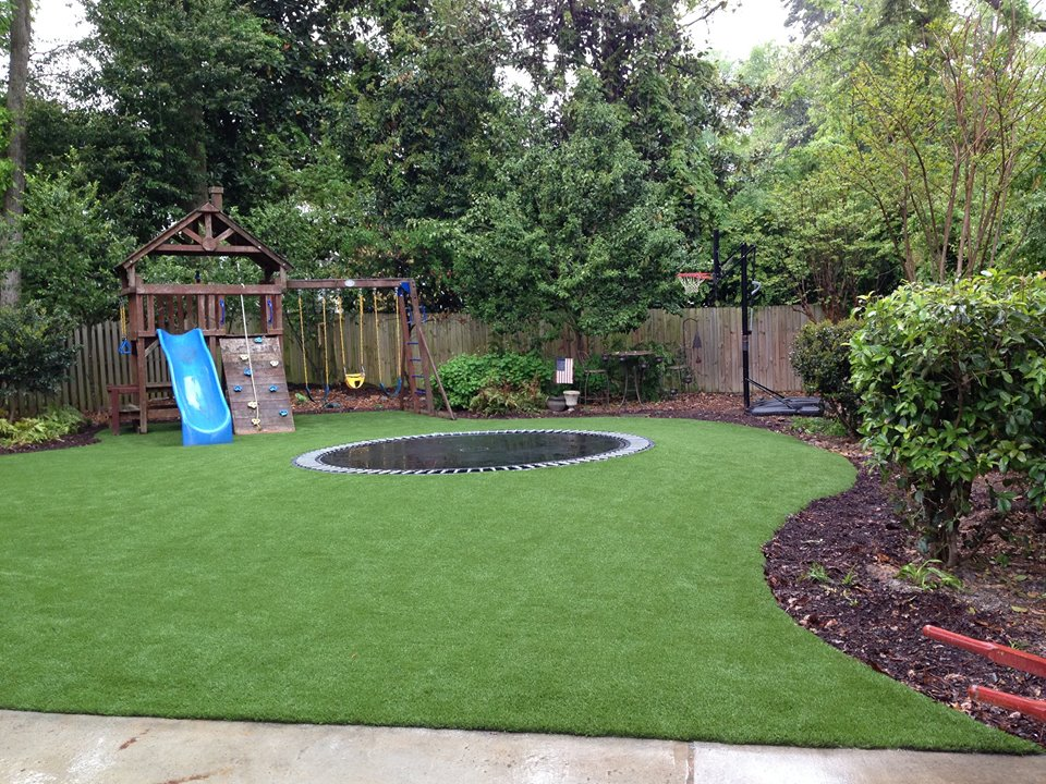 SoftLawn® Lawn & Landscaping | Synthetic Turf International on Artificial Turf Backyard Ideas id=59471
