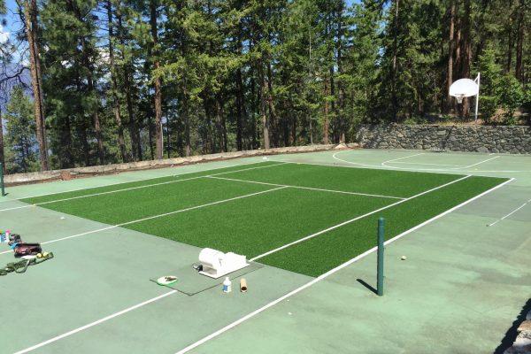 tennis court   sports turf   STI