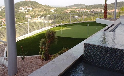 San Antonio Hill Country Turf Installation | STI