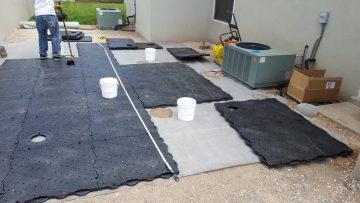 Before Backyard Putting Green | STI