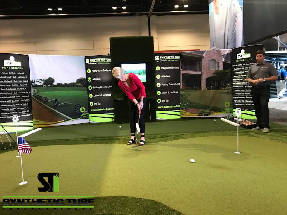 PGA 2018 Show Synthetic Turf Application